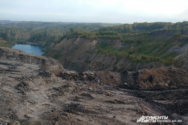 Из-за деятельности угольных предприятий округа рискует превратиться в лунный ландшафт.