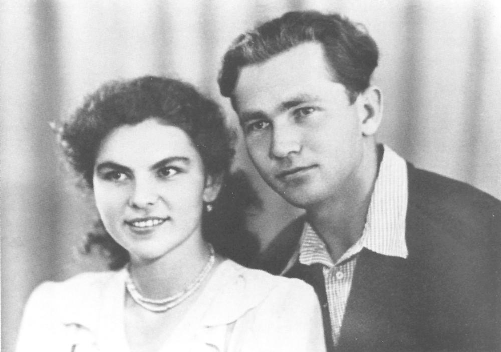 Фикрят Табеев с женой.
