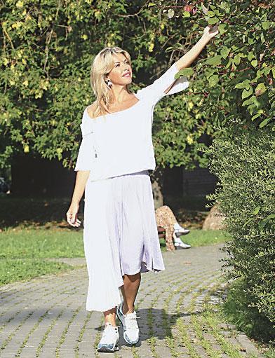 «В Воронцовском парке у меня ощущение, что я за городом», – делится Басиния Шульман.