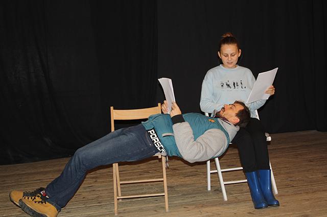 Театр часто проводит читки современных пьес.