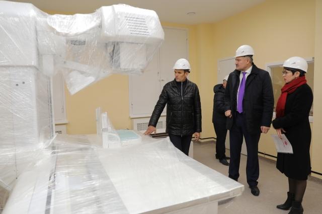 Больницы республики оснащаются современным оборудованием