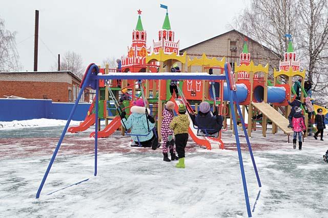 В с. Юрла полностью завершили благоустройство главного парка.