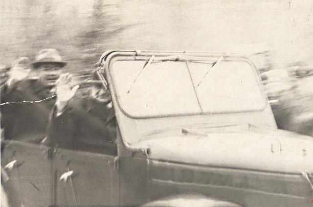 Фотографировать было запрещено, однако удалось заснять Брежнева.