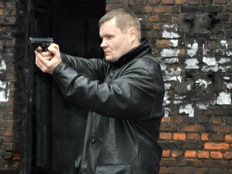 Чугунова часто приглашают на роль бандита.