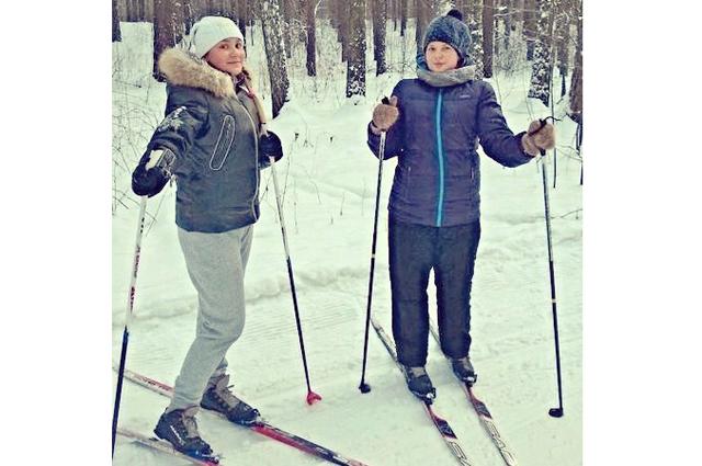 Конкурсное фото Анны и Анастасии.