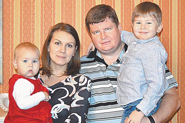 Семейство Потаповых.