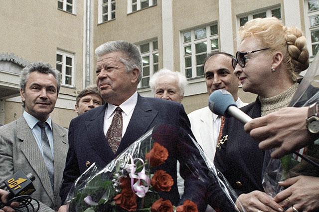 Святослав Федоров и его супруга Ирэн Федорова.