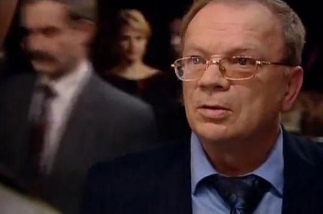 Одна из последних ролей Годовикова. Кадр из фильма «Шеф» (2011).