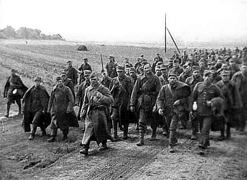 Польские пленные, взятые Красной Армией