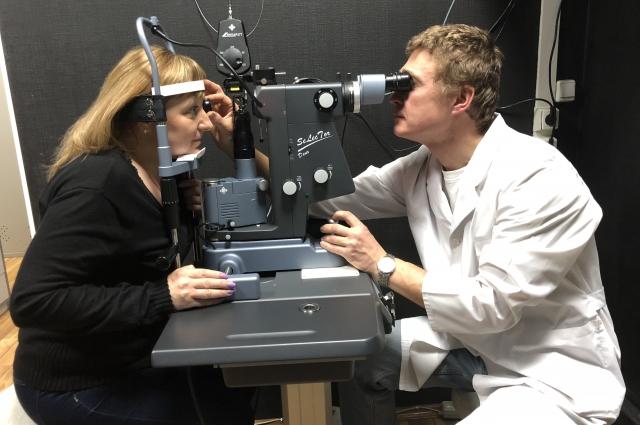 Лазерное лечение глаукомы в НИИ медико-экологических проблем зрения.