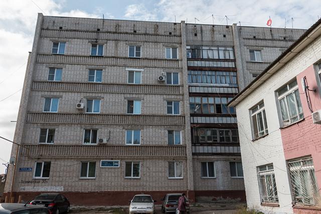 Дом на улице Технической.