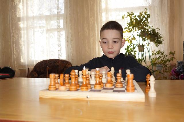 Дети Новой Станицы увлечены шахматами.