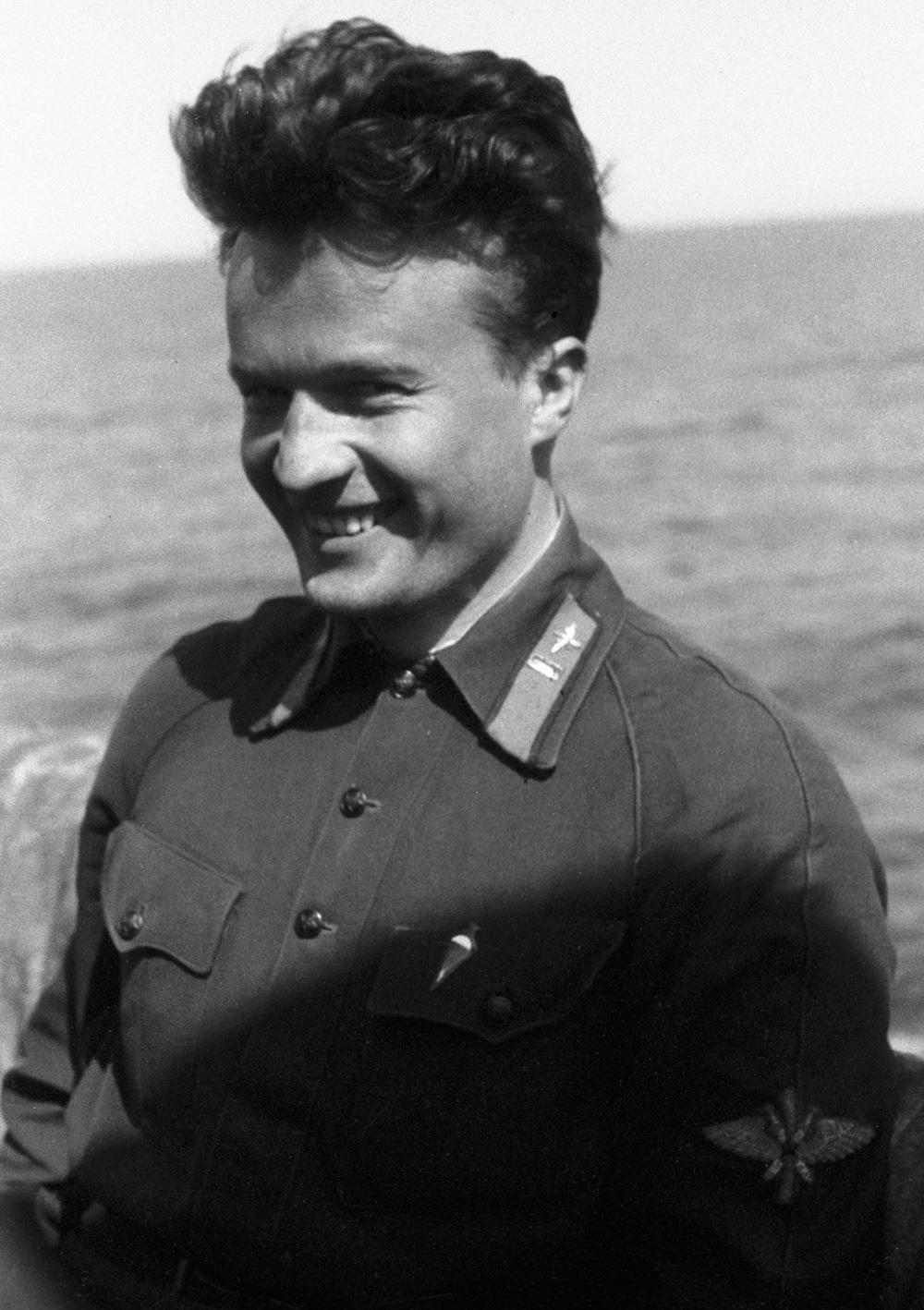 Николай Каманин в 1934 г.