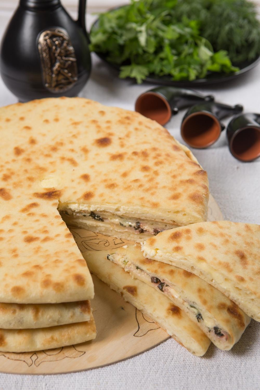 слышно осетинский пирог многослойный с фото год это праздник