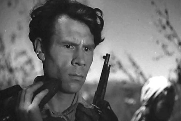 Иван Рыжов в фильме «Лесные братья», 1942 год