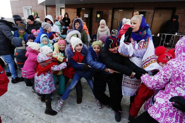 Для новосибирцев приготовили много конкурсов.