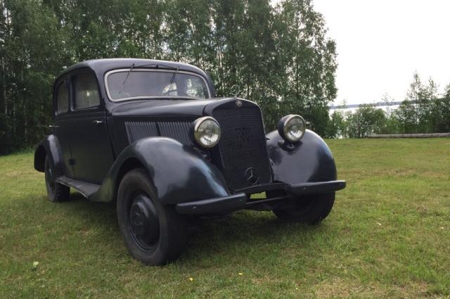 «Мерседес-Бенц» 1938 года, выпущенный в Германии.