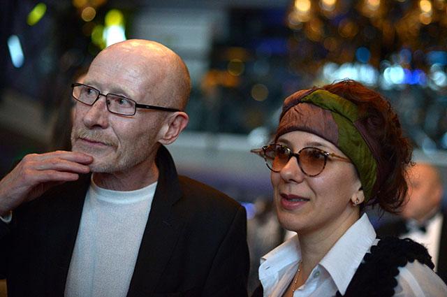Виктор Проскурин с супругой Ириной, 2013 г.