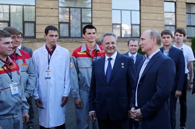 В гостях у аграрного вуза был даже президент России.