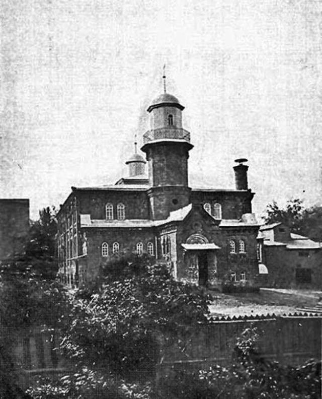 Московская соборная мечеть в первые годы своего существования. Снимок сделан между 1905 1930 годами