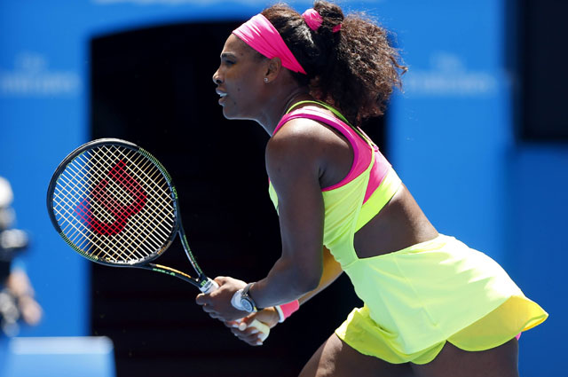 Серена Уильямс на Australian Open 2015