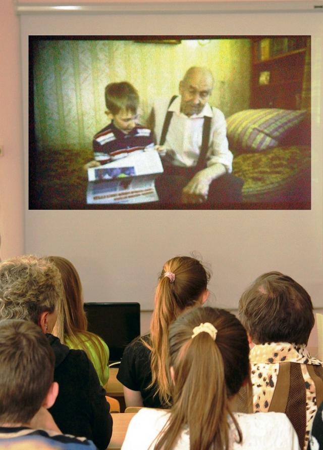 Премьера документального фильма «Васенин» в Томинской школе дала хороший повод для откровенного разговора о человеческих судьбах, которые опалила война.