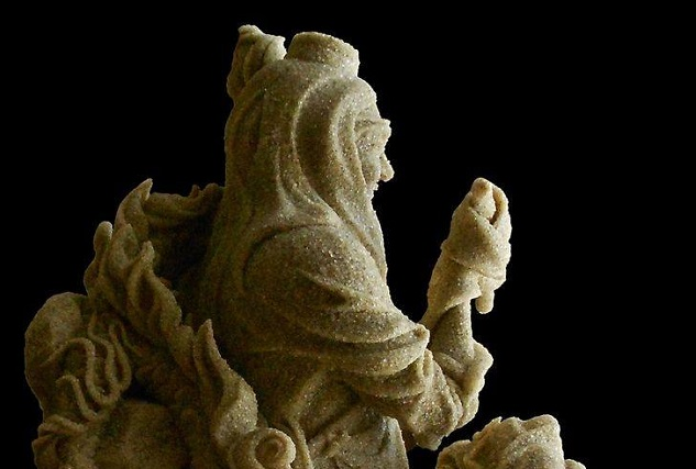 андрей Дидык создает песочные скульптуры уже 8 лет.