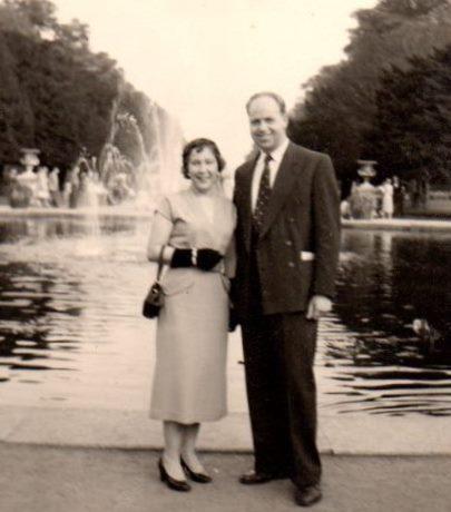 Труди Бакли с мужем Джорджем