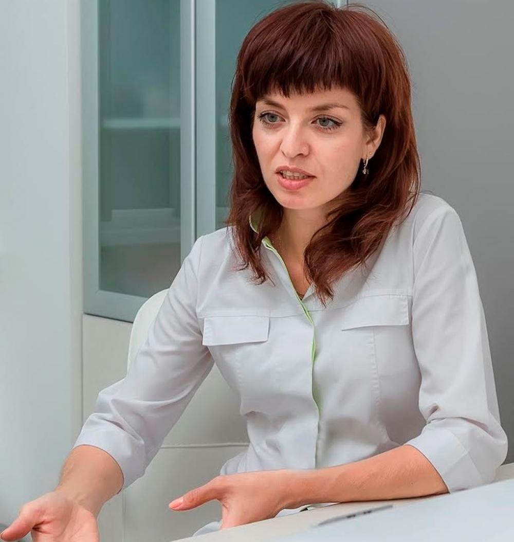 врач-кардиолог клиники «Источник», кандидат медицинских наук Марина Редькина.