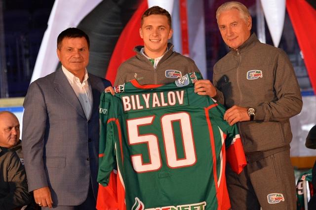 Билялов - местный воспитанник.