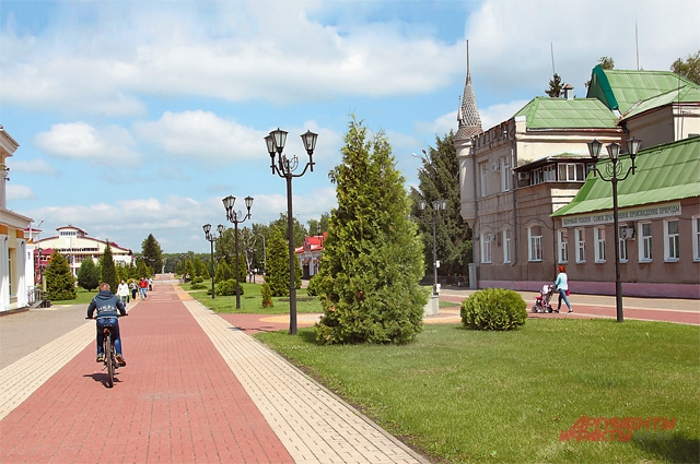 Улица Ленина в Грайвороне.