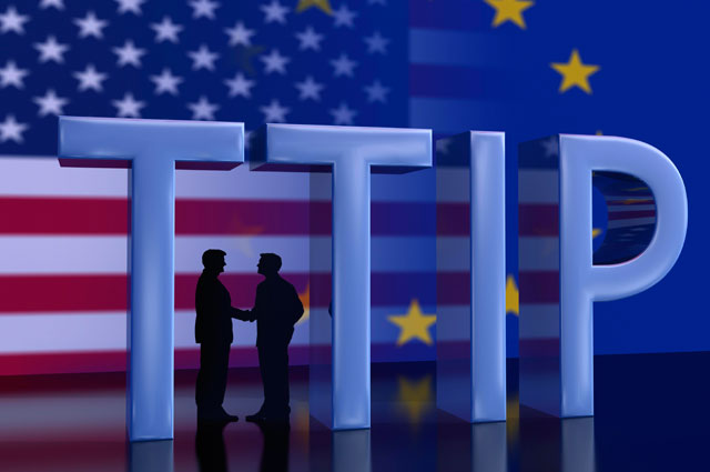 Трансатлантическое торговое и инвестиционное партнёрство.