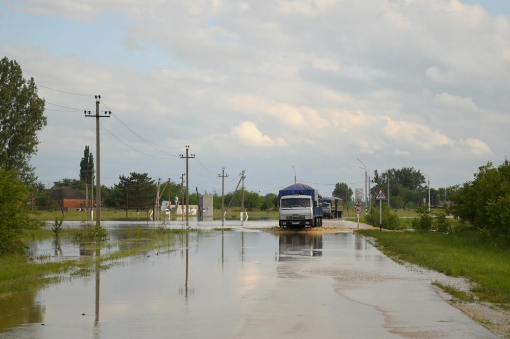 паводок в Адыгее, наводнение