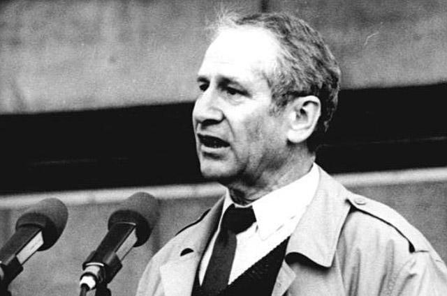 Маркус Вольф. 1989 г.