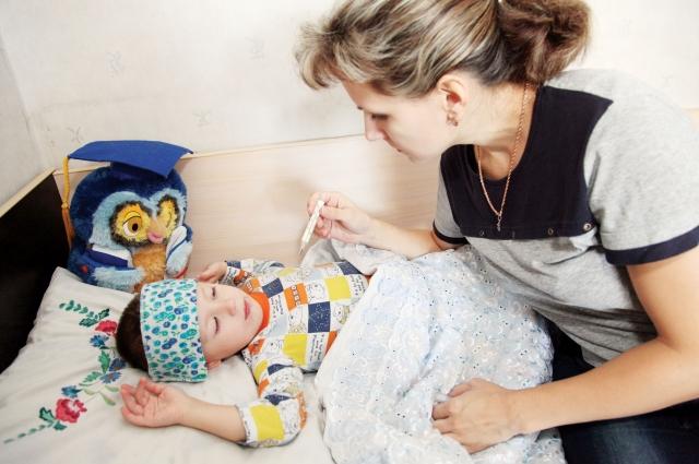 Больничный по уходу за ребенком.