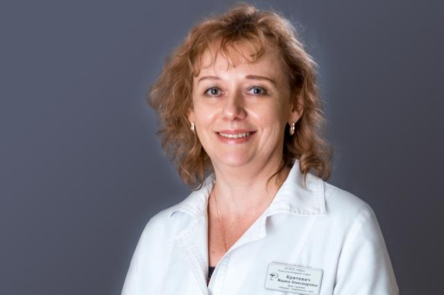 Марина Критевич - врач-гастроэнтероглог.