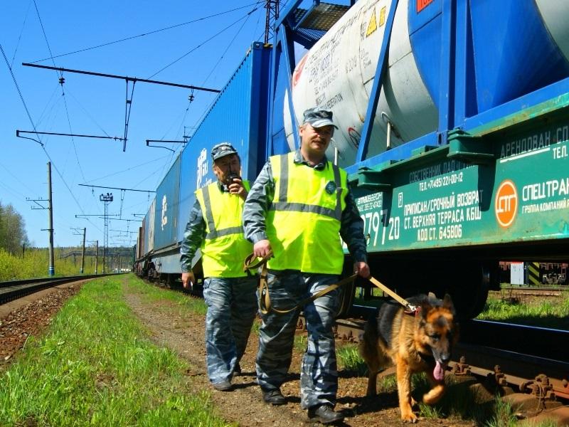 На СвЖД действуют специализированные группы, состоящие из сотрудников транспортной полиции и работников ведомственной охраны железнодорожного транспорта.