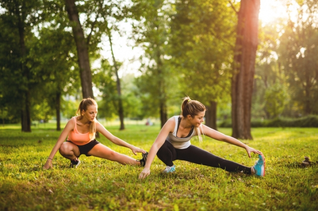 фитнес на даче