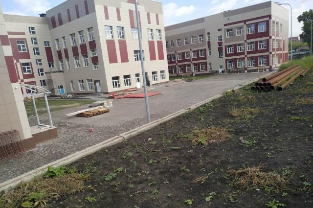 Школу передали новому подрядчику.