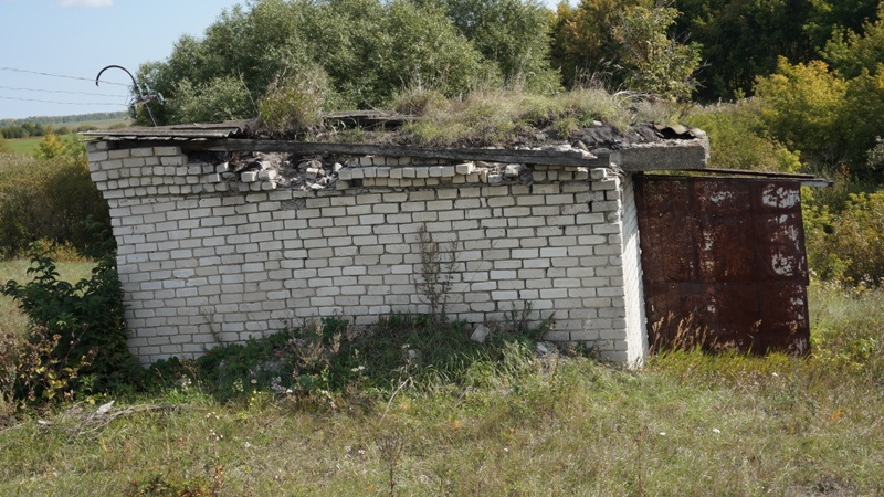 Разрушающаяся водокачка – мина замедленного действия, заложенная под село.