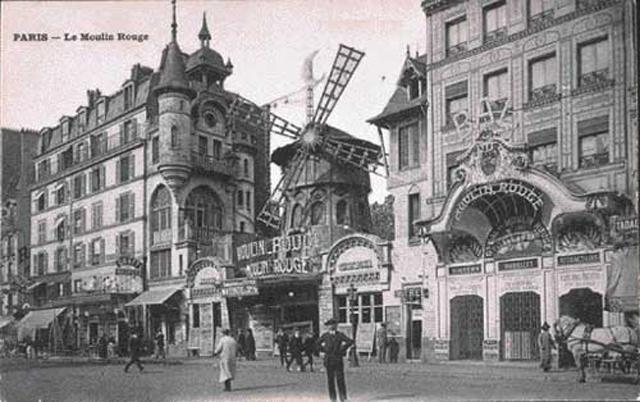 Мулен Руж в 1900 году.