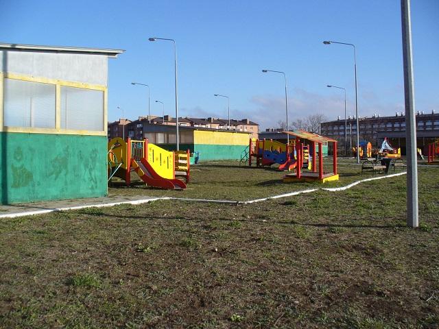 Новый детский сад.