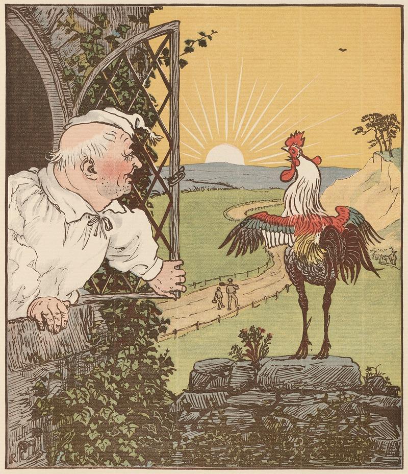 Рандольф Калдекотт. Иллюстрация к сказке Дом, который построил Джек.