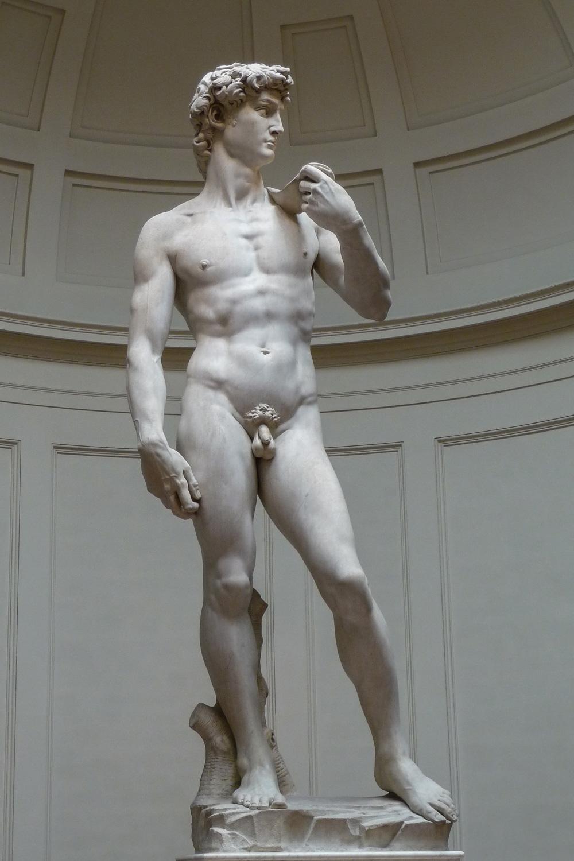 «Давид» Микеланджело Буонарроти.