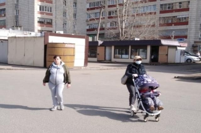 утром 30 марта Утром в понедельник на улицах можно было видеть без масок и перчаток и молодых, и пожилых.