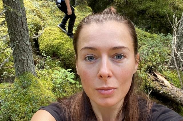 Полина Гаранина отправилась на отдых в Карелию.