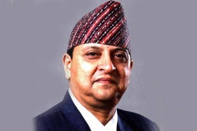 Король Непала Гьянендра.