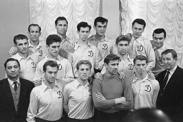 Футбольная команда «Динамо» в1959году.