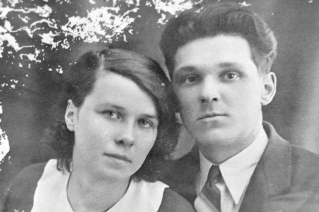Анна Филиппова с мужем перед свадьбой