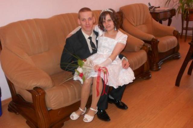 На свадьбе Верочка была самой счастливой.